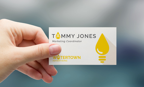 Seattle printing mailing and large format color design tips trim hand holding a business card colourmoves